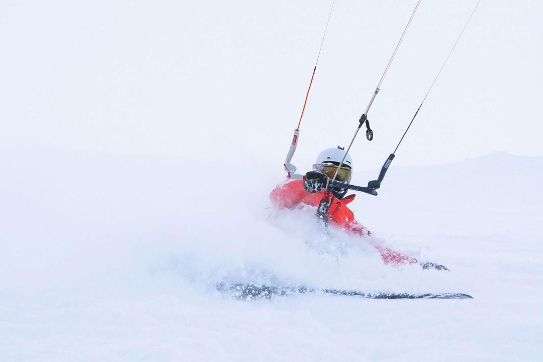 Halne Hardangervidda Snowkite