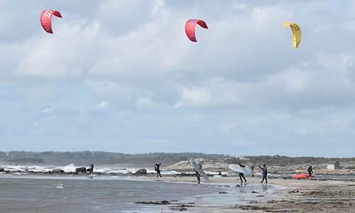 Kitekurs i Ugglarp med Villa Surf Garden